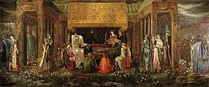 Avalon - The Last Sleep of Arthur in Avalon by Edward Burne-Jones