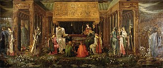 Avalon - The Last Sleep of Arthur in Avalon by Edward Burne-Jones