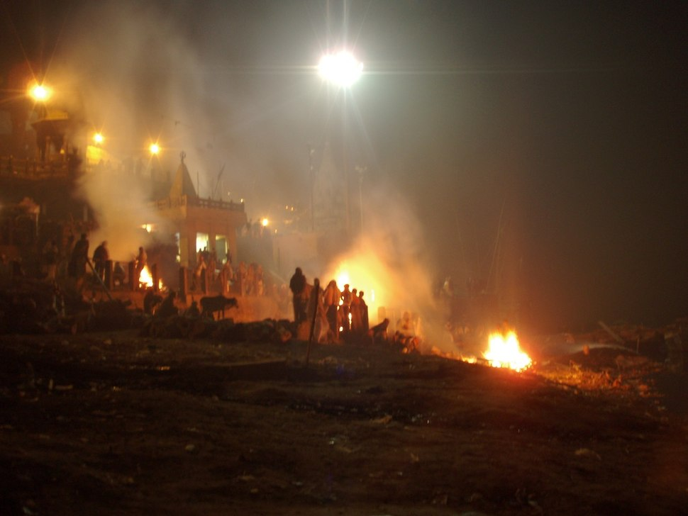 Burning ghats of Manikarnika, Varanasi