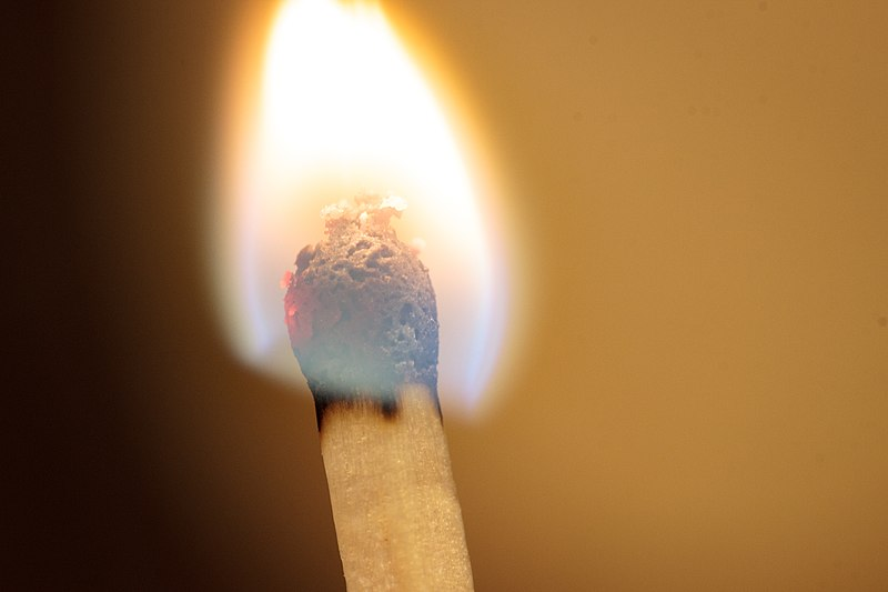 File:Burning match head.jpg