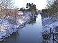 Burstwick Drain in the Snow - geograph.org.uk - 278527.jpg