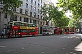 Buses outside Bush House. - geograph.org.uk - 921280.jpg