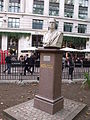 Bust of Newton - Leicester Square Gardens, London (4039249547).jpg