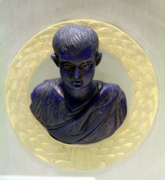 Constantius II - Bust of Constantius II while he was a prince, Romano-Germanic Museum, Cologne