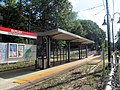 Butler station from Neponset Trail, August 2016.JPG