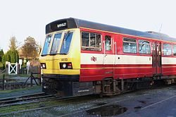 Butterley railway station, Derbyshire, England -trains-19Jan2014 (3).jpg