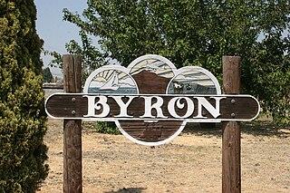 Byron, California Census designated place in California, United States