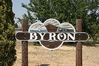 Byron, California - Byron sign