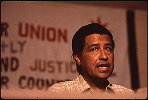 CAESAR CHAVEZ, MIGRANT WORKERS UNION LEADER - ...