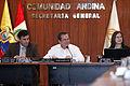 CAN, reunión de Cancilleres y Ministros de Comercio en Lima (9056014440).jpg