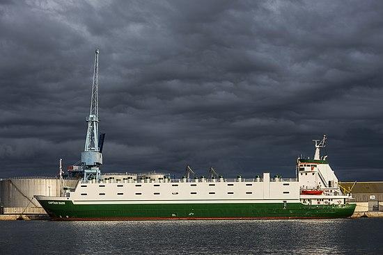 CAPTAIN BADR (ship, 1978). Sète cf01.jpg