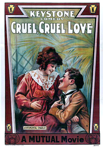 Cruel, Cruel Love - Theatrical poster