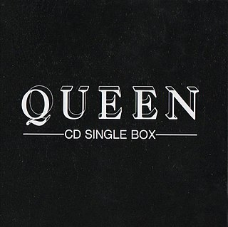 <i>Queen CD Single Box</i> 1991 compilation album by Queen