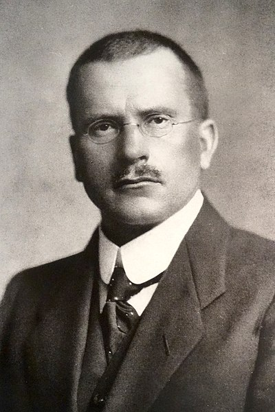 Picture of an author: Carl Jung