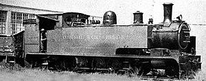 CSAR Class C 2-8-4T - Image: CSAR Class C 2 8 4T no 204