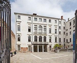 Ca' Foscari University of Venice - Ca' Foscari Facade on Calle Foscari