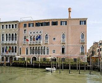 Ca' Sagredo - Grand Canal Facade of Palazzo Sagredo-Morosini