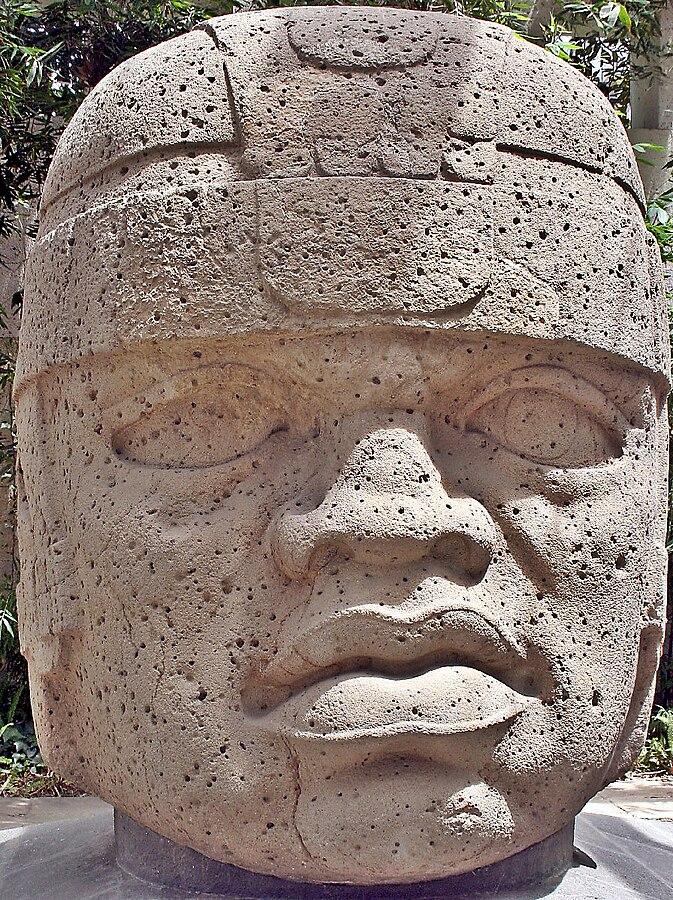 San Lorenzo Colossal Head 1