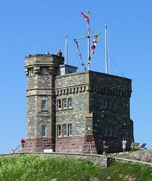 Cabot Tower, Signal Hill Park, St. John's, New...