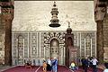 Cairo, cittadella, moschea di an-nasr mohammed, 1318-1335, mihrab 01.JPG