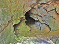 Calmoutier. Intérieur de la grotte Eglise de Combe-Epine. (1). 2015-07-31.JPG
