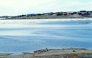 Inuit-Siedlung Cambridge Bay
