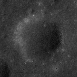 Camelot (crater) - Apollo 17 panoramic camera image