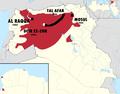 Camino de fuga yihadista entre Tal Afar en Irak y Deir ez-Zor en Siria.png