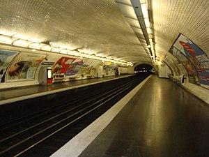 Campo Formio (Paris Métro) - Image: Campo Formio quais