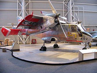Canadair CL-84 - Canadair CL-84 Dynavert Serial number CX8402 on display at the Canada Aviation Museum in Ottawa, Ontario
