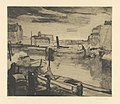 Canal, print by Armand Apol (1879-1950), Belgium, Prints Department of the Royal Library of Belgium, S.III 67999.jpg
