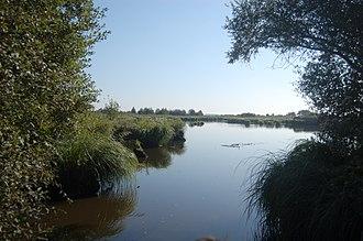 Brière Regional Natural Park - Image: Canal indivis de Brière