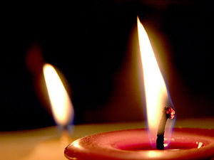300px Candle Flames Forgetful Me   A Dark Night For Me As a Blogger