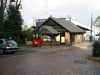 Canley railway station - Canley railway station (from the car park)