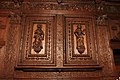 Canonbury Tower - Faith and Hope panelling in the Compton Room IMG 0075.jpg