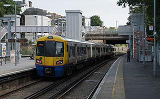 Canonbury railway station Railway station in the London Borough of Islington