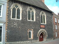 Canterbury - Eastbridge Hospital of Saint Thomas the Martyr von 1176.jpg