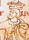 Canute and Ælfgifu cropped (Canute).jpg