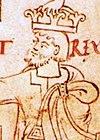Canute and Ælfgifu cropped (Canute).jpg