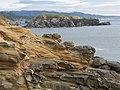 Cape Sebastian shore and Hunter's Island - panoramio.jpg