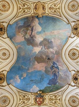 Paul Albert Laurens - Triomphe de Clémence Isaure  Capitole de Toulouse