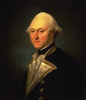 James King (Royal Navy officer) - Captain James King, 1782 by John Webber