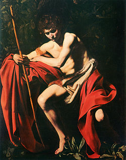 Caravaggio Baptist Nelson-Atkins Museum of Art, Kansas City.jpg