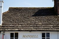 Carfax Horsham West Sussex England - Horsham Stone tiled roof 1.jpg