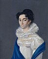 Carl Bardout. Portrait of M.I.Delyanova (1818).jpg