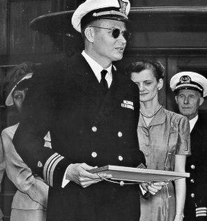 Carlton Skinner - Skinner on the USCGC Sea Cloud, June 1948