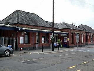 Carmarthen railway station Railway station in Carmarthenshire, Wales