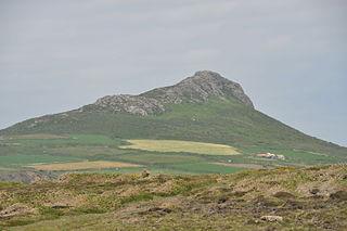 Carn Llidi Hill in Wales
