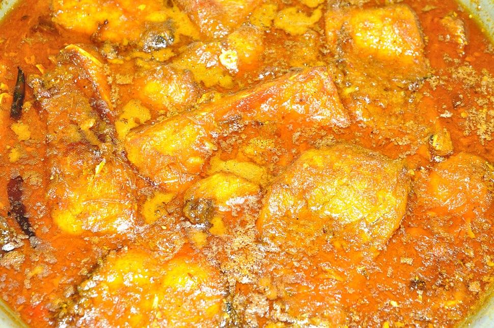 Carp Curry - Kolkata 2011-02-10 0974