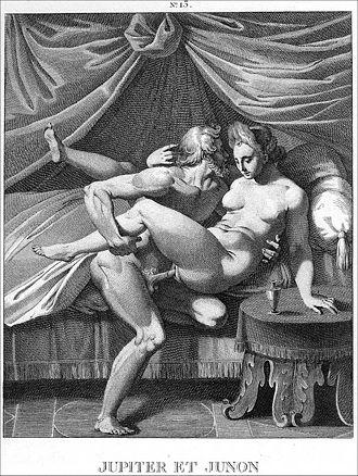 Erotic engraving supposedly after Agostino Carracci (1557-1602) Carracci Jupiter et Junoncrop.jpg